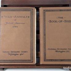 Libros antiguos: NATIONAL GEOGRAPHIC SOCIETY. 2 EJEMPLARES. VARIOS AUTORES. U.S.A. 1918/1925.. Lote 166263418