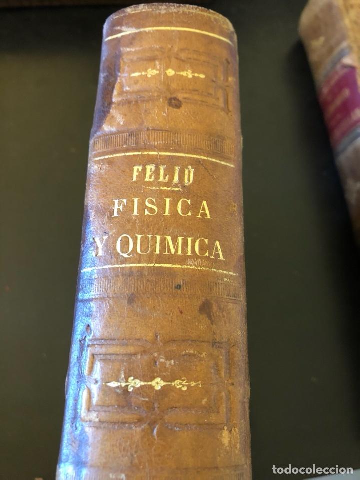 Libros antiguos: Libro curso de física y química 1883 - Foto 2 - 166560514