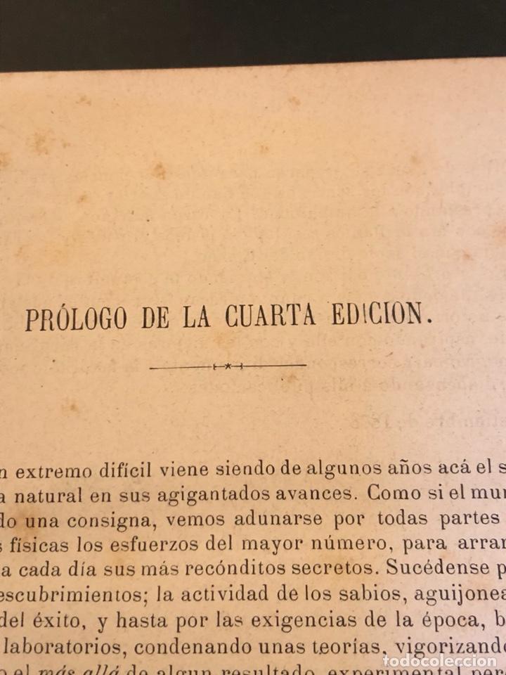Libros antiguos: Libro curso de física y química 1883 - Foto 6 - 166560514