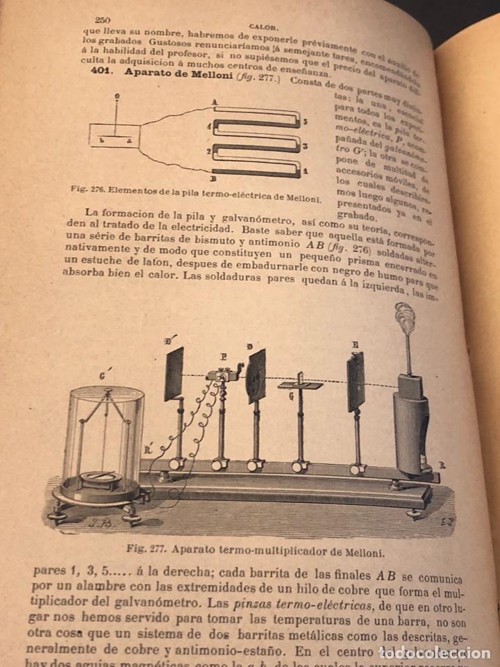 Libros antiguos: Libro curso de física y química 1883 - Foto 8 - 166560514