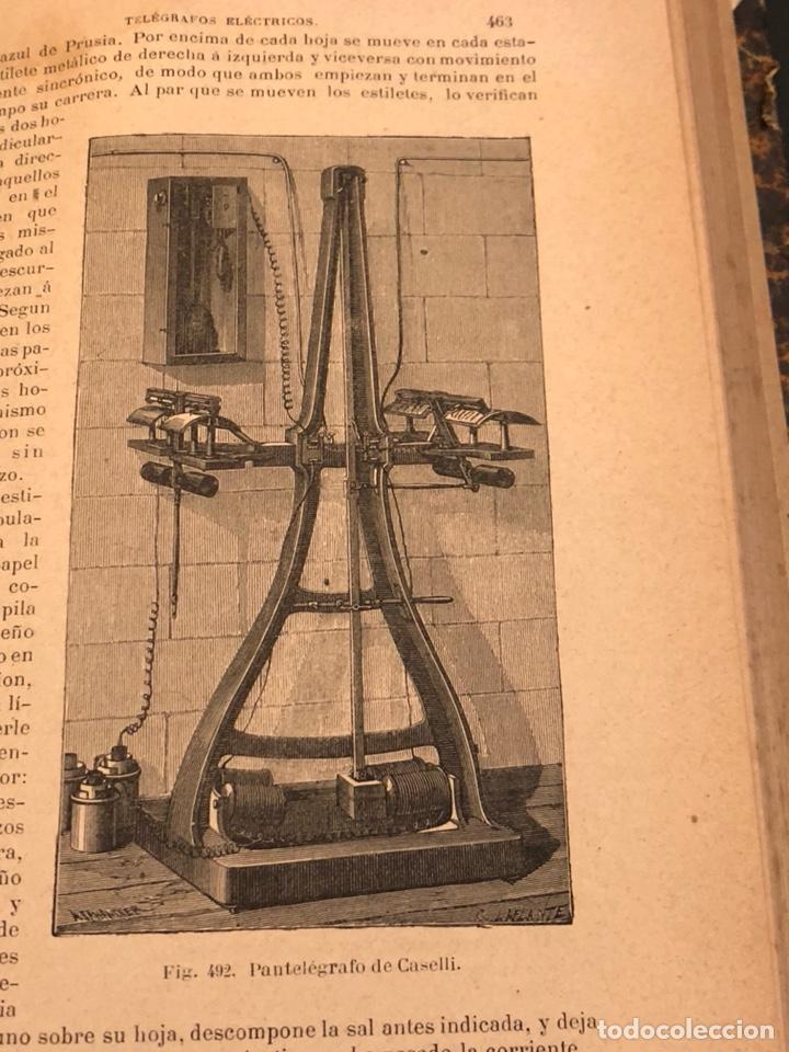 Libros antiguos: Libro curso de física y química 1883 - Foto 9 - 166560514