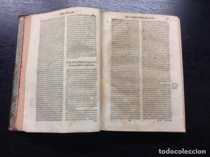 Libros antiguos: LIBRO DE AGRICULTURA, TRATADO LABRANZA, DE ALONSO DE HERRERA, 1605 - Foto 5 - 166596950