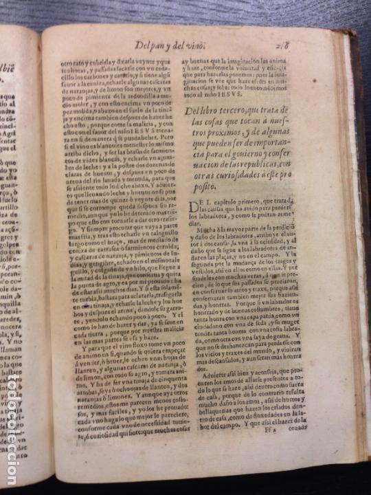 Libros antiguos: LIBRO DE AGRICULTURA, TRATADO LABRANZA, DE ALONSO DE HERRERA, 1605 - Foto 6 - 166596950