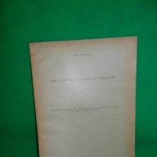 Libros antiguos: NOTA ACERCA DEL CUATERNARIO DE TORREDOLONES, JUAN CARANDELL, 1928. Lote 166912152