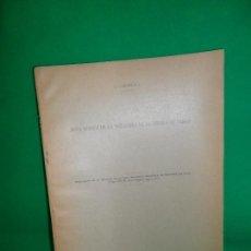 Libros antiguos: NOTA ACERCA DE LA TECTÓNICA DE LA SIERRA DE CABRA, JUAN CARANDELL, 1927. Lote 166912844