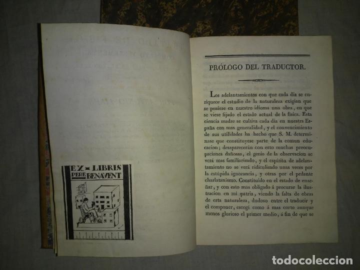 Libros antiguos: TRATADO DE FISICA COMPLETO - AÑO 1827 - ANTONIO LIBES - PLANCHAS GRABADAS. - Foto 3 - 167544028