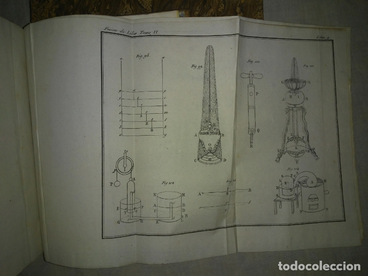 Libros antiguos: TRATADO DE FISICA COMPLETO - AÑO 1827 - ANTONIO LIBES - PLANCHAS GRABADAS. - Foto 10 - 167544028