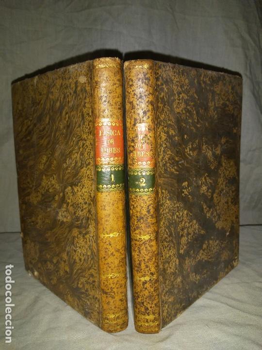 TRATADO DE FISICA COMPLETO - AÑO 1827 - ANTONIO LIBES - PLANCHAS GRABADAS. (Libros Antiguos, Raros y Curiosos - Ciencias, Manuales y Oficios - Física, Química y Matemáticas)