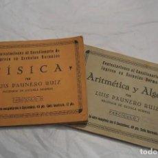 Libros antiguos: LOTE LIBROS DEL PROFESOR 1934. Lote 167740572