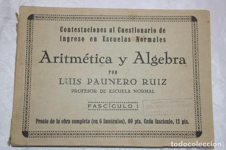 Libros antiguos: LOTE LIBROS DEL PROFESOR 1934 - Foto 2 - 167740572