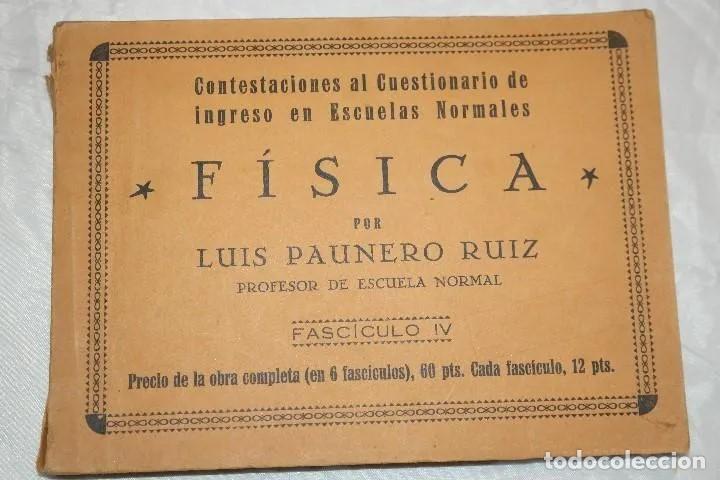 Libros antiguos: LOTE LIBROS DEL PROFESOR 1934 - Foto 3 - 167740572