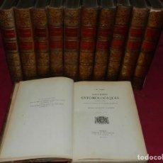 Libros antiguos: (MF) OBRAS COMPLETAS - J H FABRE - SOUVENIRS ENTOMOLOGIQUES (ENTOMOLOGIA) ETUDES INSECTES 1924. Lote 168047488