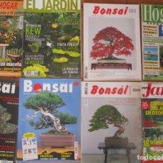 Libros antiguos: 8 REVISTAS PARA LOS AMANTES DE LOS BONSAIS. Lote 168432132