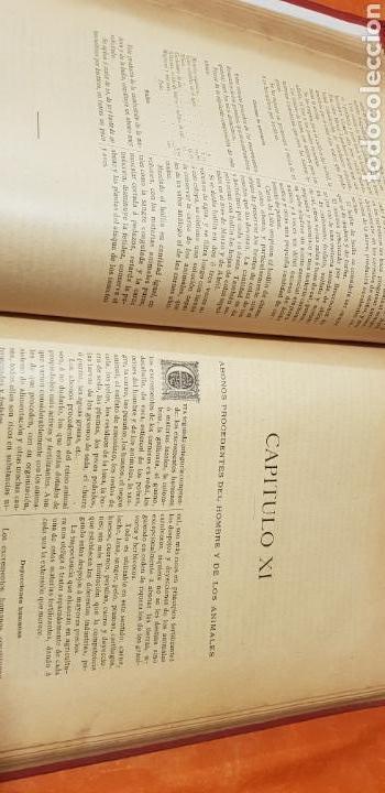 Libros antiguos: TRATADO DE AGRICULTURA Y ZOOTECNICA,5 TOMOS COMPLTA,1889- - Foto 16 - 168457249
