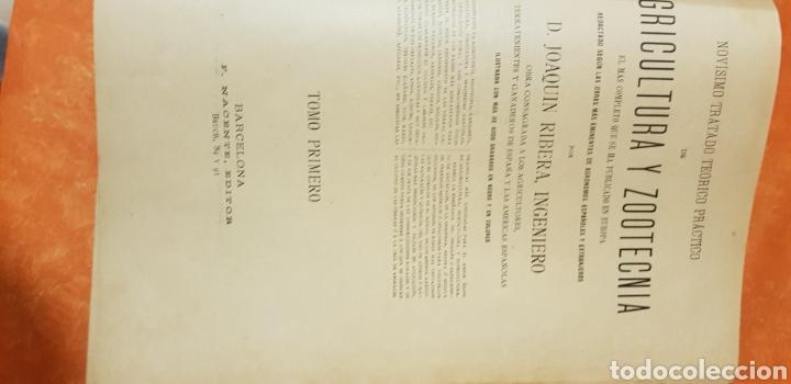 Libros antiguos: TRATADO DE AGRICULTURA Y ZOOTECNICA,5 TOMOS COMPLTA,1889- - Foto 15 - 168457249