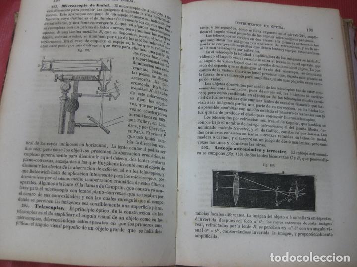 Libros antiguos: MANUAL DE FISICA Y QUIMICA. MANUEL RICO Y MARIANO SANTISTEBAN. IMPRENTA DE MANUEL MINUESA. 1875. - Foto 3 - 168561180