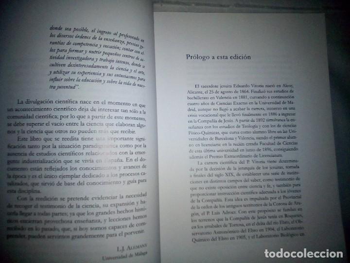 Libros antiguos: La catálisis química. Sus teorías y elaboraciones en el...- P. Eduardo Vitoria S.J. - FACSÍMIL - Foto 6 - 168568892