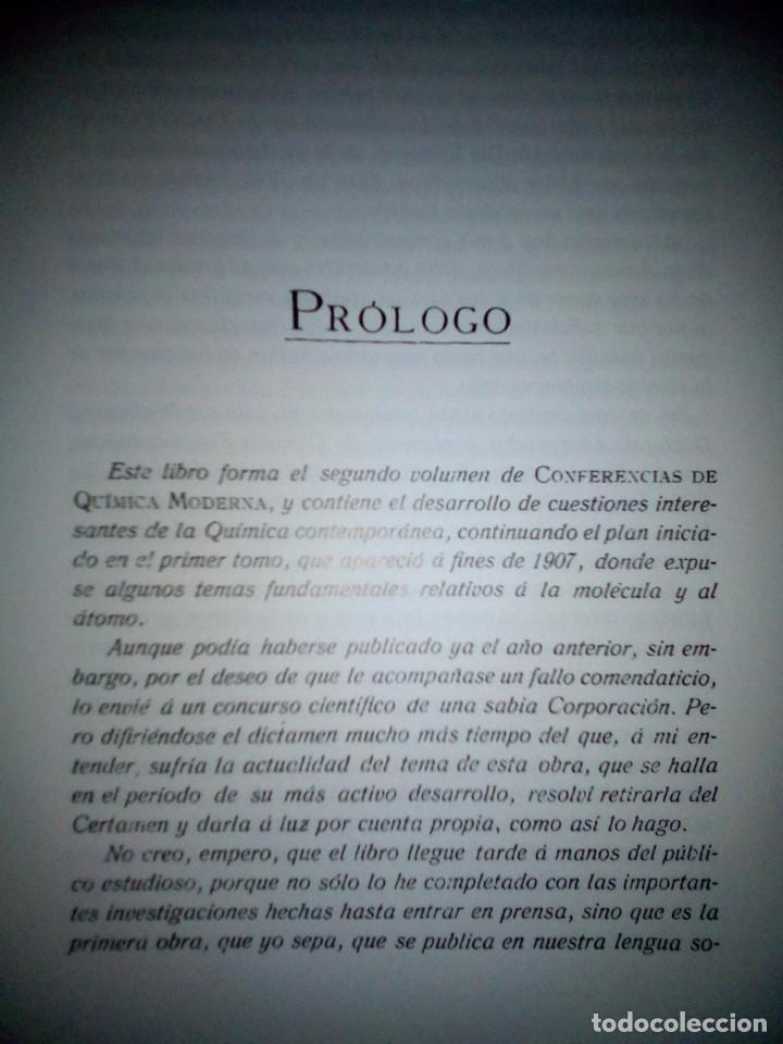 Libros antiguos: La catálisis química. Sus teorías y elaboraciones en el...- P. Eduardo Vitoria S.J. - FACSÍMIL - Foto 9 - 168568892