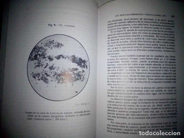 Libros antiguos: La catálisis química. Sus teorías y elaboraciones en el...- P. Eduardo Vitoria S.J. - FACSÍMIL - Foto 15 - 168568892
