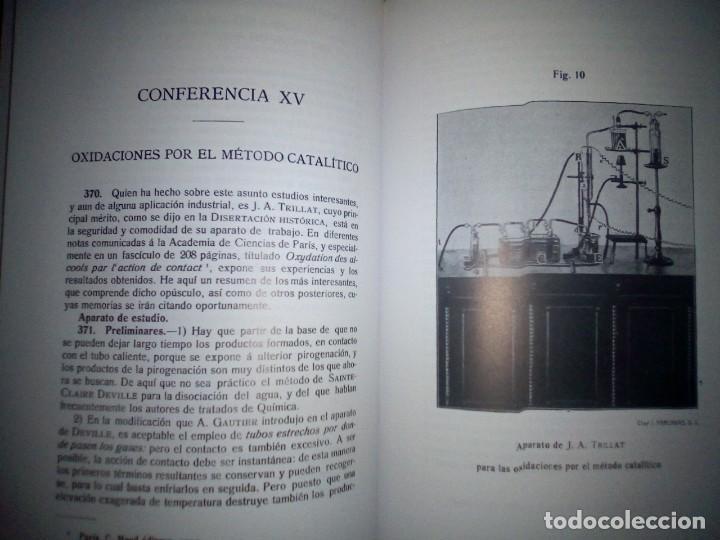Libros antiguos: La catálisis química. Sus teorías y elaboraciones en el...- P. Eduardo Vitoria S.J. - FACSÍMIL - Foto 17 - 168568892
