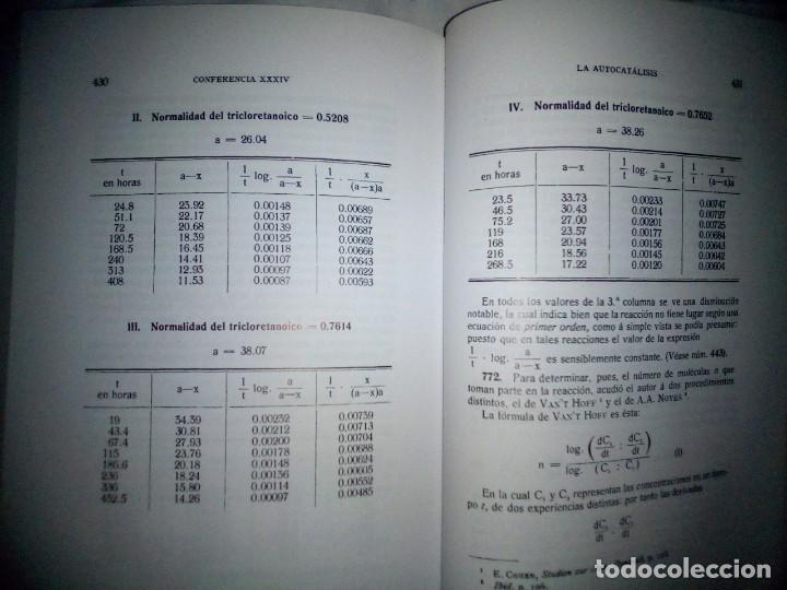 Libros antiguos: La catálisis química. Sus teorías y elaboraciones en el...- P. Eduardo Vitoria S.J. - FACSÍMIL - Foto 19 - 168568892