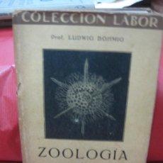 Libros antiguos: ZOOLOGIA I INVERTEBRADOS. LUDWIG BÖHMIG.. EDITORIAL LABOR 1930.. Lote 168570132
