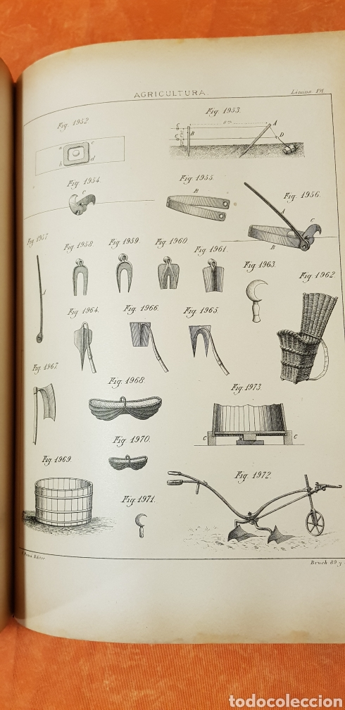 Libros antiguos: TRATADO DE AGRICULTURA Y ZOOTECNICA,5 TOMOS COMPLTA,1889- - Foto 23 - 168457249