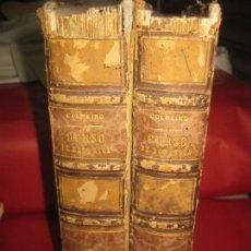 Libros antiguos: CURSO DE BOTANICA O ELEMENTOS DE ORGANOGRAFIA .... MIGUEL COLMEIRO. IMP. GABRIEL ALHAMBRA 1871. 2 V.. Lote 168779992