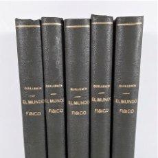 Libros antiguos: EL MUNDO FÍSICO. 5 TOMOS. AMADEO GUILLEMIN. EDIT. MONTANER Y SIMON. BARCELONA. 1882/85.. Lote 168823080