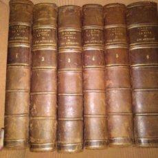 Libros antiguos: 1882. LA VIDA DE LOS ANIMALES. OBRA COMPLETA. DR. BREHM.. Lote 168873276
