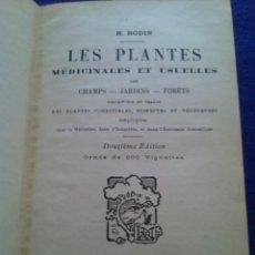 Libros antiguos: ANTIGUO LIBRO EN FRANCÉS DE PLANTAS MEDICINALES. Lote 168918172