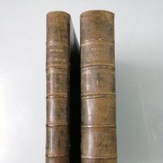 Libros antiguos: QUÍMICA GENERAL Y APLICADA A LA INDUSTRIA. HECTOR MOLINARI. 1920. 2 TOMOS. QUÍMICA INORGÁNICA.. Lote 169217626