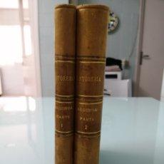 Libros antiguos: TINTORERÍA. MIRÓ LAPORTA. 2 TOMOS. PARTE 2. 1917. 1/2 PIEL NERVIOS LOMERA CUAJADA. PRECIOSOS.. Lote 169221657