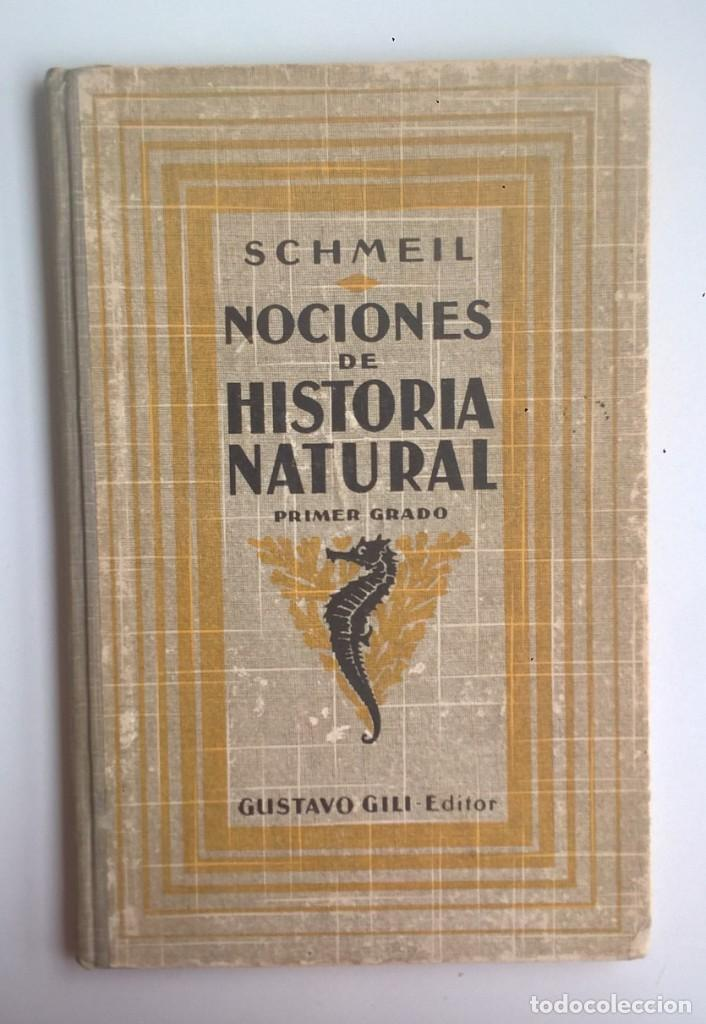 NOCIONES DE HISTORIA NATURAL - PRIMER GRADO (DR.OTTO SCHMEIL) - A.CABALLERO Y F.PARDILLO - AÑO 1926 (Libros Antiguos, Raros y Curiosos - Ciencias, Manuales y Oficios - Biología y Botánica)