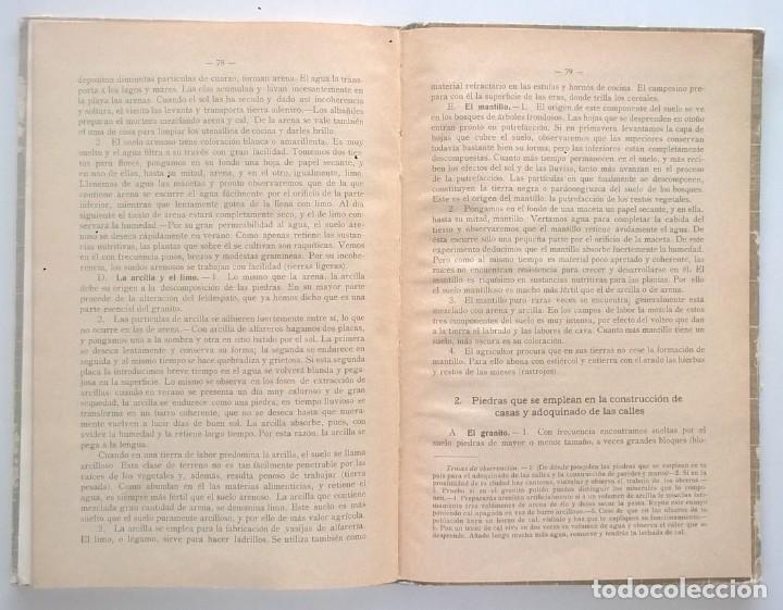 Libros antiguos: NOCIONES DE HISTORIA NATURAL - PRIMER GRADO (DR.OTTO SCHMEIL) - A.CABALLERO Y F.PARDILLO - AÑO 1926 - Foto 36 - 169757600