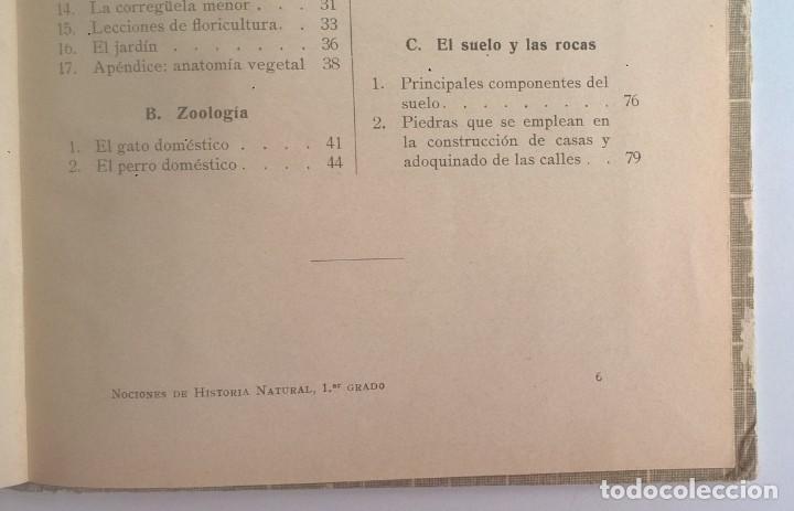 Libros antiguos: NOCIONES DE HISTORIA NATURAL - PRIMER GRADO (DR.OTTO SCHMEIL) - A.CABALLERO Y F.PARDILLO - AÑO 1926 - Foto 39 - 169757600