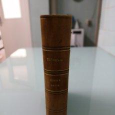 Libros antiguos: TINTORERÍA. MIRÓ LAPORTA. PARTE 4. 1917. 1/2 PIEL NERVIOS LOMERA CUAJADA. PRECIOSO.. Lote 170158186