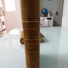 Libros antiguos: TINTORERÍA. MIRÓ LAPORTA. PARTE 5. 1917. 1/2 PIEL NERVIOS LOMERA CUAJADA. PRECIOSO.. Lote 170158464