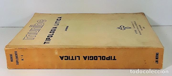 TIPOLOGÍA LÍTICA. SUPLEMENTO Nº4. JOSE MARIA MERINO. MUNIBE. SAN SEBASTÍAN. 1980. (Libros Antiguos, Raros y Curiosos - Ciencias, Manuales y Oficios - Paleontología y Geología)