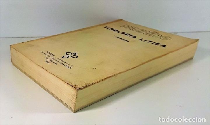 Libros antiguos: TIPOLOGÍA LÍTICA. SUPLEMENTO Nº4. JOSE MARIA MERINO. MUNIBE. SAN SEBASTÍAN. 1980. - Foto 2 - 170533880