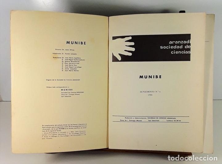 Libros antiguos: TIPOLOGÍA LÍTICA. SUPLEMENTO Nº4. JOSE MARIA MERINO. MUNIBE. SAN SEBASTÍAN. 1980. - Foto 5 - 170533880