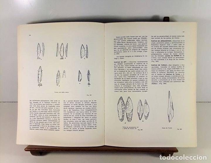 Libros antiguos: TIPOLOGÍA LÍTICA. SUPLEMENTO Nº4. JOSE MARIA MERINO. MUNIBE. SAN SEBASTÍAN. 1980. - Foto 6 - 170533880