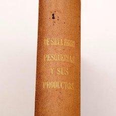Libros antiguos: RAMÓN DE SILVA FERRO : ... ESTUDIOS Y EXPLOTACIÓN DE ALGUNAS PESQUERAS ... EN LA ISLA GRACIOSA. Lote 171398643