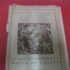 Libros antiguos: LA SANSA COM ADOB. AUGUST MATONS. MANCOMUNITAT DE CATALUNYA 1923.. Lote 171506522