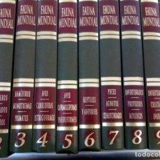 Libros antiguos: FAUNA MUNDIAL,10 TOMOS,REF 010 ROMIL. Lote 172088684