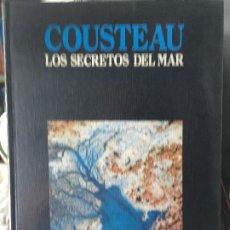 Libros antiguos: COUSTEAU LOS SECRETOS DEL MAR 3 TOMOS. Lote 172700644