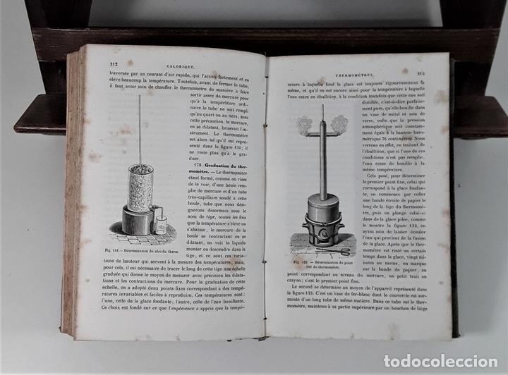 Libros antiguos: COURS DE PHYSIQUE. A. GANOT. EDIT. CHEZ LAUTEUR. PARÍS. 1859. - Foto 4 - 172749673