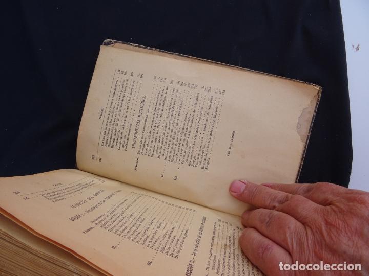 Libros antiguos: Año: 1905. Elementos de matematicas.Geometria.Trigonometria. Madrid. Oviedo - Foto 3 - 172814014