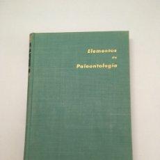 Libros antiguos: ELEMENTOS DE PALEONTOLOGIA, PROF. H. H. SWINNERTON, EDICIONES OMEGA, 1ª EDICION ESPAÑOLA. Lote 173087558
