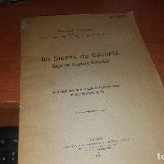 Libros antiguos: LA SIERRA DE CAZORLA BAJO SU ASPECTO FORESTAL, ENRIQUE MACKAY, MADRID 1917. Lote 173488640